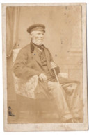 Homme 1862 Photo CDV 6x9cm  J NEDZYNSKI À VESOUL - Old (before 1900)