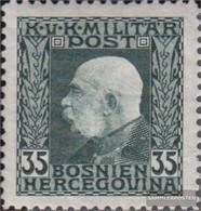 Austria.-Bosnia-herzegovina. 74 With Hinge 1912 Franz Joseph - Nuovi