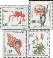 Monaco 773-776 (kompl.Ausg.) Postfrisch 1964 Flora Und Fauna - Neufs