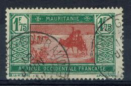 Mauritanie, 1f75, Caravane Dans Le Désert, 1928, Obl, TB  Joli Et Rare Cachet De FORT-GOURAUD (aujourd'hui F'Derick) - Used Stamps