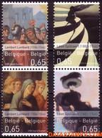 België 2006 - Mi:3564/3565, Yv:3506/3509, OBP:3516/3519, Stamp - XX - Art In Belgium - Unused Stamps