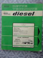 Revue Technique Diesel Camion N°371969 BERLIET GR12 TRACTEUR TR 12 INDENOR OM - Camion