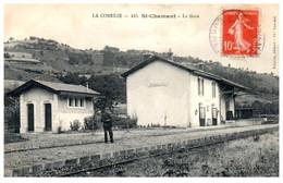 19 SAINT-CHAMAND - La Gare - Autres Communes