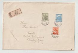 Boehmen Und Maehren - 1942 - Reco-Brief Ex Prag (1321-20) - Covers & Documents
