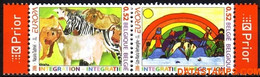 België 2006 - Mi:3611/3612, Yv:3546/3547, OBP:3561/3562, Stamp - XX - Europe 2006 Children And Migration - Unused Stamps