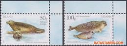 Ijsland 2011 - Mi:1302/1303, Yv:1229/1230, Stamp - XX - Seals - Nuevos
