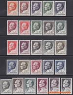 Joegoslavie 1968 - Mi:1232/1247 + 1280/1289, Yv:1143/1168, Stamp - XX - President Tito - Nuevos