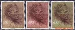 Joegoslavie 1977 - Mi:1686/1688, Yv:1575/1577, Stamp - XX - Josip Broz Tito - Nuevos