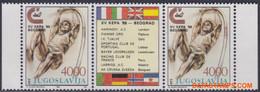 Joegoslavie 1989 - Mi:2344, Yv:2223C, Stamp - XX - Athletics - Nuevos