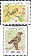 Iran (Persia) 2850-2851 (complete Issue) Unmounted Mint / Never Hinged 2001 Birds - Iran
