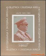 Joegoslavie 1983 - Mi:BL 23, Yv:BL 22, Block - XX - Tito - Hojas Y Bloques