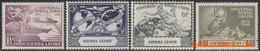 Sierra Leone 1949 - Mi:171/174, Yv:176/179, Stamp - XX - Upu - Sierra Leona (1961-...)
