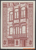 België 1962 - Mi:1264, Yv:1204, OBP:1204, Stamp - □ - Baron Horta - No Dentado