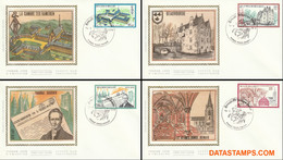 België 1979 - Mi:1992/1995, Yv:1935/1938, OBP:1940/1943, Fdc Z/s - O - Cultural Issue - 1971-80