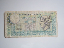 1979 BILLET Italie Italia 500 Lire Cinquecento - 500 Liras