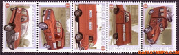 België 2009 - Mi:3969/3973, Yv:3904/3908, OBP:3923/3927, Stamp - XX - Post On The Move - Unused Stamps