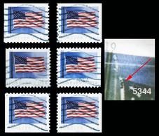 Etats-Unis / United States (Scott No.5344 - FLAG ) (o) All Positions - Oblitérés
