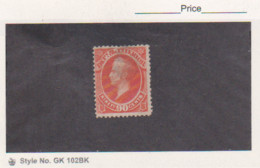 1873 US Stamps Scott # O24 Interior Department Official 90ct Used Cat. $ 50.00 - Officials