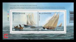 Canada 2021 Mih. 3886/87 (Bl.302I) Ship Bluenose (with Overprint CAPEX'22) MNH ** - Ongebruikt