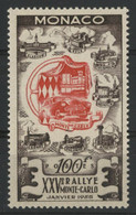 "MONACO N° 420 Cote 135 € ""Rallye De Monte Carlo"" Neufs ** (MNH). (voir Description) - Unused Stamps"