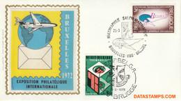 België 1972 - Mi:1676, Yv:1621, OBP:1621, Fdc Z/s - O - Belgica 72 - 1971-80