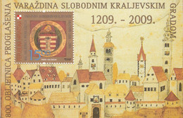 2009 Croatia Varazdin Souvenir Sheet MNH @ BELOW FACE VALUE - Croazia