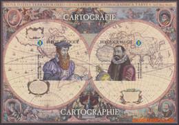 België 2012 - OBP:GCE 1, Black And White Sheet - XX - Cartography - Hojas Blanco & Negro