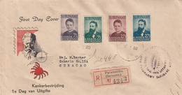 Suriname FDC 15-5-1950 - Surinam ... - 1975