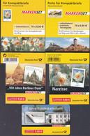 Bund - 5 Markenheftchen Mit 50 Selbstklebenden Marken á 0,90 / 0,95 € - Postfrisch - Postgültige Frankaturware - Booklets