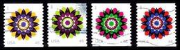 Etats-Unis / United States (Scott No.4722-25 - Kaleidoscope Flowers) (o) Set - Oblitérés
