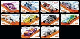 Etats-Unis / United States (Scott No.5321-30 - Hot Wheels) (o) Series / Set - Used Stamps