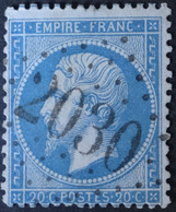 22 Obl GC 2030 Lhuis (1 Ain ) Ind 8 ; Frappe Très Nette & TB Centrée - 1849-1876: Classic Period