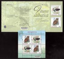 Moldova 2021 Europa CEPT Endangered National Wildlife S/s** MNH With Booklet - Moldavia