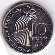 10 Francs Robert Schuman 1986 374-2 SUP - K. 10 Franchi