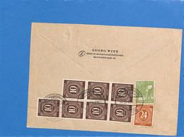 Allemagne Bizone 1947 Lettre De Berlin (G2361) - Zona Anglo-Americana