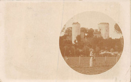 21-7271 : CACHET DEPART DE NIORT. CARTE-PHOTO DU CHATEAU DU COUDRAY-SALBART PRES ECHIRE - Sonstige Gemeinden
