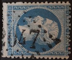 22 Obl GC 2047 Lillebonne (74 Seine Inférieure ) Ind 3 - 1849-1876: Klassik