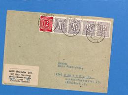 Allemagne Bizone 1946 Lettre De Bad Harzburg (G2417) - Zona Anglo-Americana