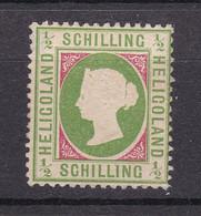 Helgoland - 1869/73 - Michel Nr. 6 - Ungebr. - 110 Euro - Helgoland