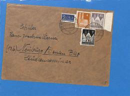 Allemagne Bizone 1949 Lettre De Minden  (G2418) - Zone Anglo-Américaine
