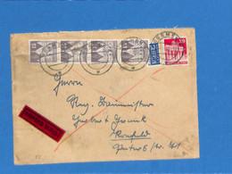 Allemagne Bizone 1950 Lettre De Bremen (G2419) - Zone Anglo-Américaine