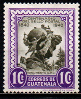 GUATEMALA - 1946 - Centenary Of The First Postage Stamp - USATO - Guatemala