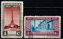 GUATEMALA - 1937 - Tower Of The Reformer - National Post Office - USATI - Guatemala