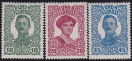 Österreich   .   Y&T    .  Feldpost  69/71    .   *  .   Ungebraucht  Mit Gummi.   /   .  Mint-hinged - Unused Stamps