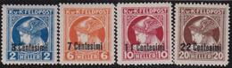 Österreich   .   Y&T    .  Italien  23/26   .   *  .   Ungebraucht  Mit Gummi.   /   .  Mint-hinged - Ongebruikt