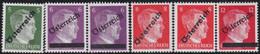 Österreich   .   Y&T    .  6  Marken     .   **     .   Postfrisch     /   .  MNH - 1945-60 Ongebruikt