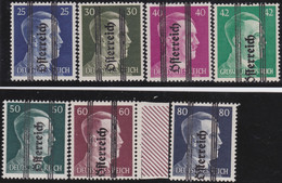 Österreich   .   Y&T    .    565/571        .   **     .   Postfrisch     /   .  MNH - 1945-60 Nuevos & Fijasellos