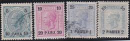 Österreich-Levant   .   Y&T    .   39/42  .  O  Und  *   .   Gebraucht  Und Ungebraucht Mit Gummi - Gebruikt