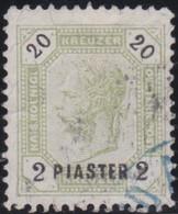 Österreich-Levant   .   Y&T    .   28    .     O  .     Gebraucht  .   /    .  Cancelled - Gebruikt