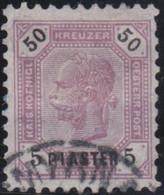 Österreich-Levant   .   Y&T    .   29    .     O  .     Gebraucht  .   /    .  Cancelled - Gebruikt